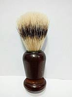 Помазок (кисточка) для бритья в деревяном корпусе SPL 90325 (щетина — имитация барсучьего волоса), фото 1