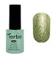 Гель-лак Tertio 10 мл №173 (салатовый с блестками)