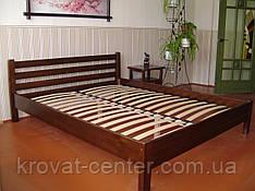 """Кровать двуспальная """"Масу"""" (200*200см.), массив - сосна, ольха, береза, дуб."""