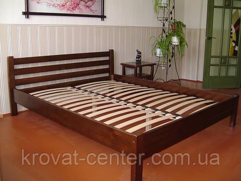 """Кровать двуспальная """"Масу"""" (200*200см.), массив - сосна, ольха, береза, дуб., фото 2"""