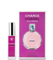Мини парфюм Chanel Chance Eau Tendre 40 мл в подарочной упаковке ( для женщин)
