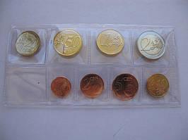 Нидерланды , набор евро монет 2016 г , UNC.