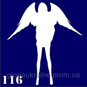 Трафарет для временного тату №116