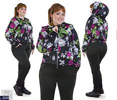 """Спортивный костюм женский (50;52;54;56) """"Dorado"""" - купить оптом со склада 2P/GA-4682"""