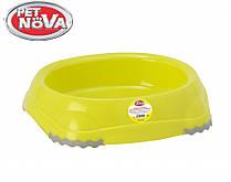 Миска для кошек Pet Nova P-EUROBOWL-INNO-210-YL Желтая