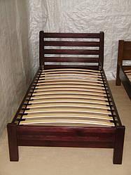 """Кровать для гостиниц """"Масу"""". Массив - сосна, ольха, береза, дуб."""