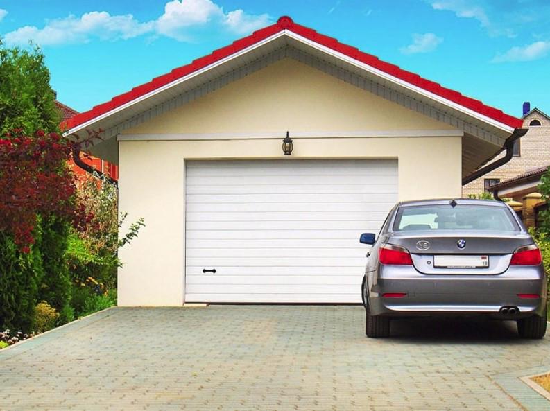 Ворота гаражные секционные Алютех CLASSIC 2800х2500
