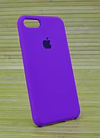 Силиконовый  Чехол на Айфон, iPhone 8 Original (COPY) Фиолетовый