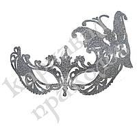 Венецианская маска Баттерфлай (серебро)