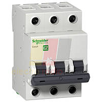 """EZ9 Автоматичний вимикач 3P, 20A, Х-КА """"С"""""""