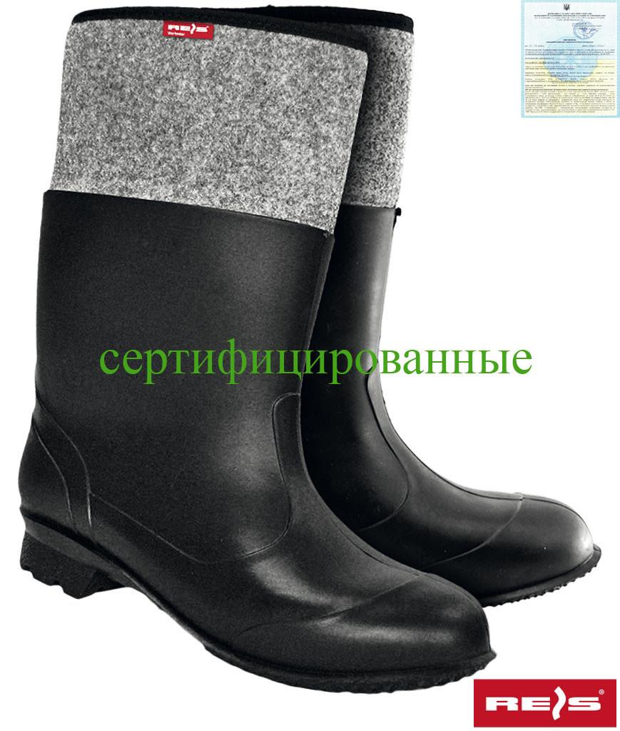 Ботинки войлочные резиновые Reis Польша BF-PCV BS