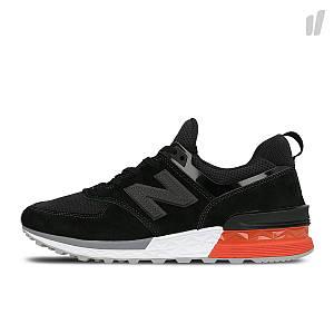 Женские кроссовки NEW BALANCE MS574AB Black Черные