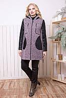 Женская куртка из ткани букле