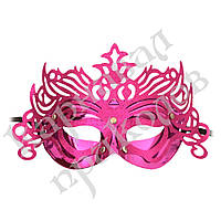 Венецианская маска Изабелла (малиновая), фото 1