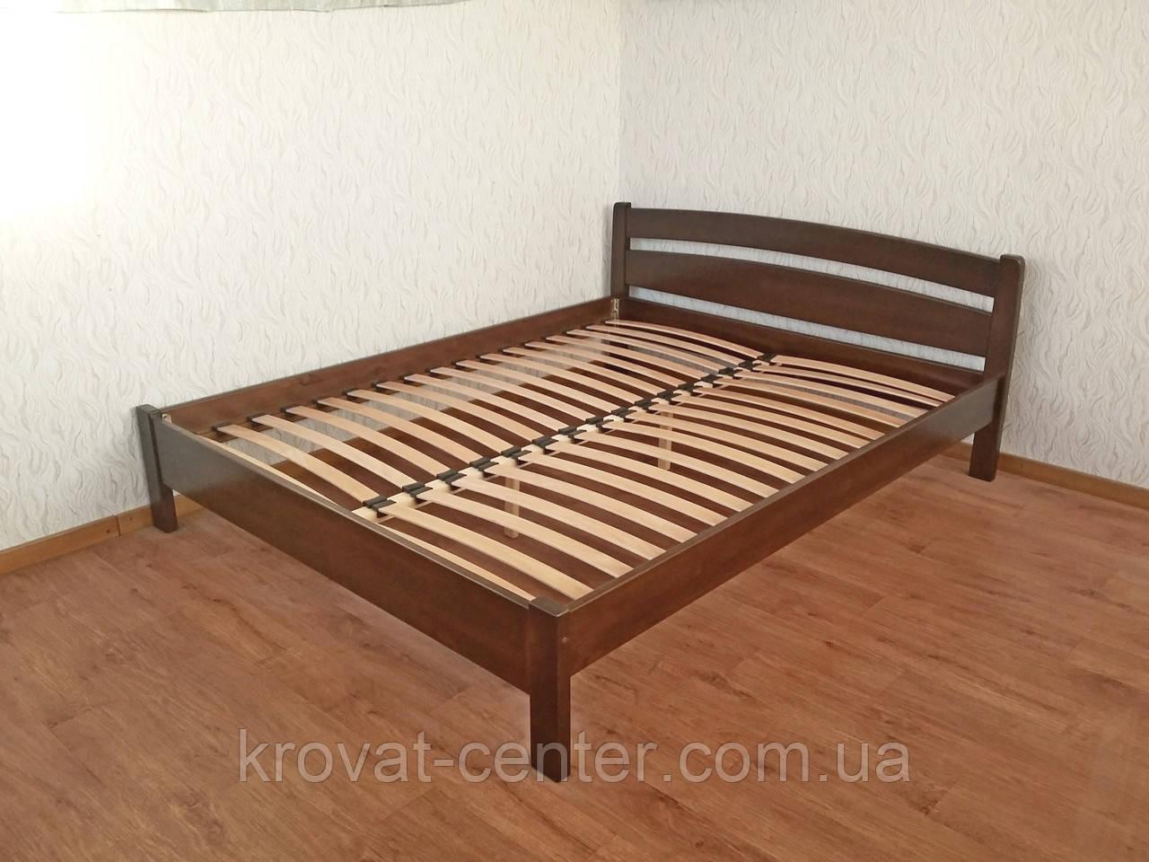 """Полуторне ліжко з масиву натурального дерева """"Березня"""" від виробника"""