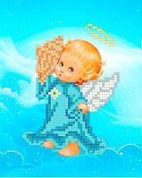 Схема для вишивки та вишивання бісером Бисерок «Ангел з ракушкою» (A6) 10x15 fd9eac023faf0