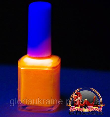 """Флуоресцентный клей """"Оранжевый"""", фото 2"""