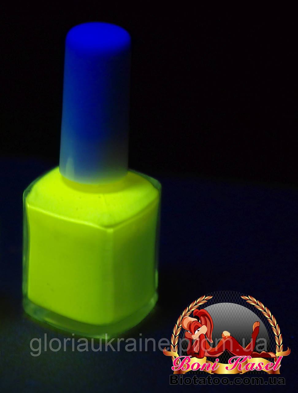 """Флуоресцентный клей """"Желтый"""""""