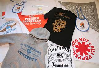 Печать на футболках,эко сумках , спец одежде , поло, регланах