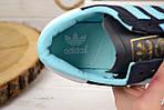 Кроссовки женские Adidas Hamburg синие 2525, фото 5
