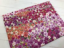"""Подарочный пакет """"Mix Flowers"""" field L (упаковка 12 шт)"""