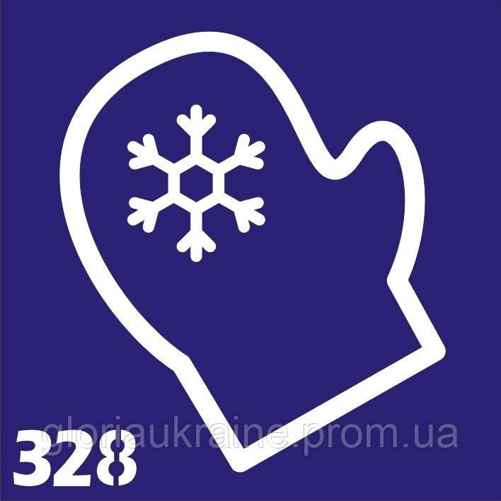 Трафарет для временного тату №328