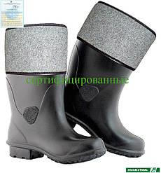 Чоботи гумові утеплені Польща (робоче взуття) BFBORYNA B
