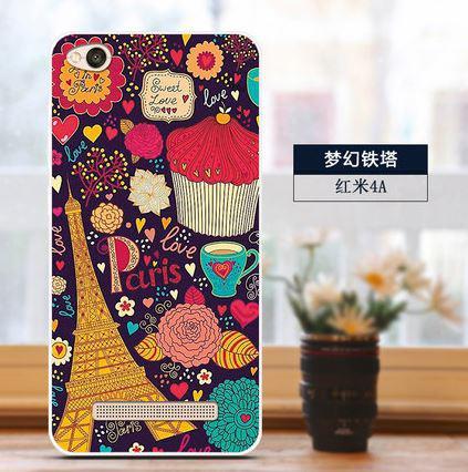 Бампер силиконовый чехол накладка с картинкой для Xiaomi Redmi 5A Сладости