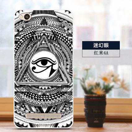 Бампер силіконовий чохол накладка з картинкою для Xiaomi Redmi 5A Масонський очей