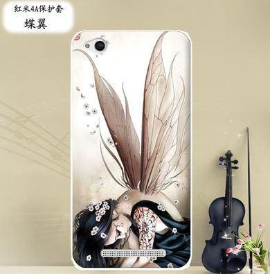Бампер силиконовый чехол накладка с картинкой для Xiaomi Redmi 5A Фея