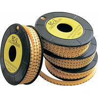 Маркеры кабельные (бирки, маркировки для кабеля)