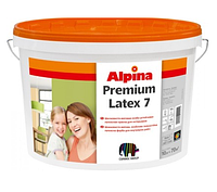 Интерьерная краска Alpina Premiumlatex 7 B1 (10л.)