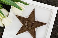"Шоколадная звезда ""Защитнику"", фото 1"