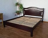"""Кровать двуспальная """"Фантазия Премиум"""". Массив - сосна, ольха, береза, дуб."""