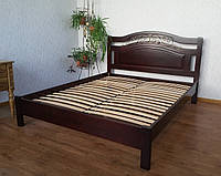 """Кровать двуспальная из натурального дерева """"Фантазия Премиум"""""""