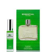 Мини парфюм Lacoste Essential 40 мл в подарочной упаковке (для мужчин)
