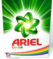 Стиральный порошок для цветных тканей Ariel Color 4,05кг (54 стирки)