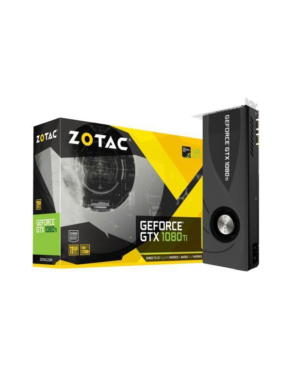 """Видеокарта Zotac GTX 1080 Ti Blower ZT-P10810B-10P """"Over-Stock"""" Б/У"""