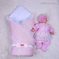 Демисезонный комплект Шарлотта+Мальвина, розовый, фото 1