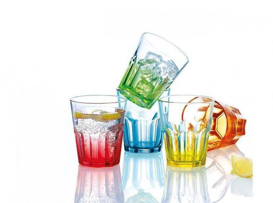 Набор стаканов Luminarc NEW AMERICA BRIGHT COLORS 250 мл 6шт J8933