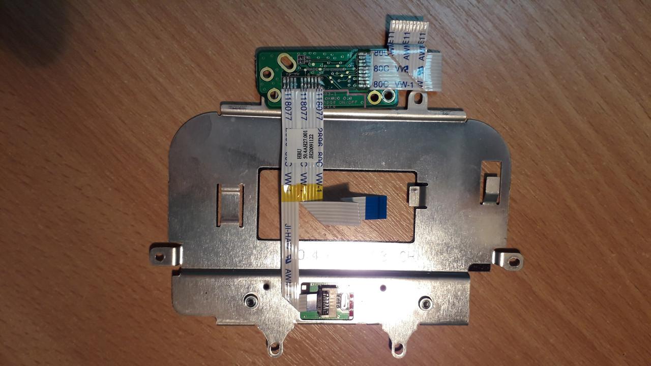 Плата с кнопками тачпада ноутбука hp pavilion g60-630US