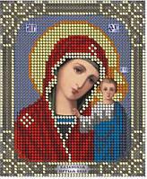 Схема для вишивки та вишивання бісером Бисерок ікона «МБ Казанська» (A6)  10x15 5a04a1d446328