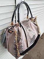 Шикарная женская сумка из натуральной кожи