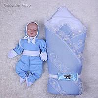 Демисезонный комплект Шарлотта+Малыш, голубой, фото 1