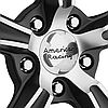 AMERICAN RACING BLVD Satin Black with Machined Face, фото 3