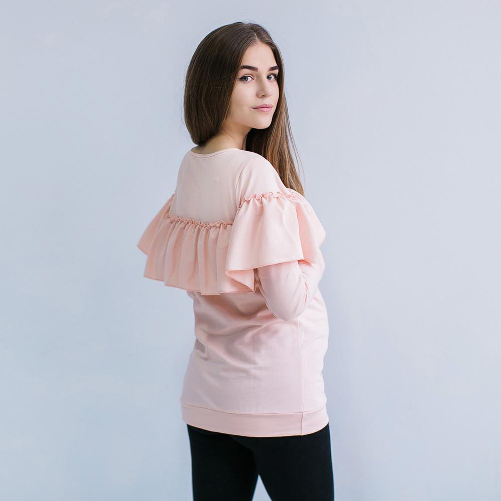 Свитшот кофта для беременных и кормящих свитер