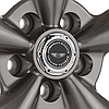 AMERICAN RACING TORQ THRUST M Anthracite with Machined Lip, фото 2