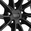AMERICAN RACING VN806 Satin Black, фото 3