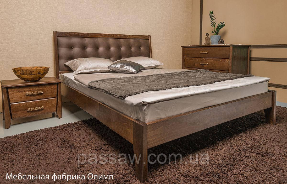 """Кровать деревянная """"Сити  Premium  без изножья"""" 1,2"""