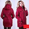 Женская куртка демисезонная большого размера